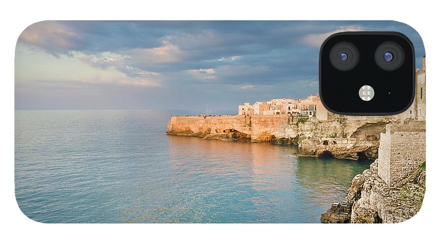 Adriatic Sea IPhone 12 Case featuring the photograph Polignano A Mare On The Adriatic Sea by David Madison