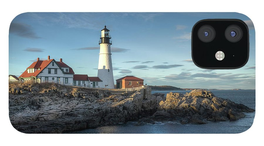 Outdoors IPhone 12 Case featuring the photograph Portland Head Lighthouse by Kenneth C. Zirkel
