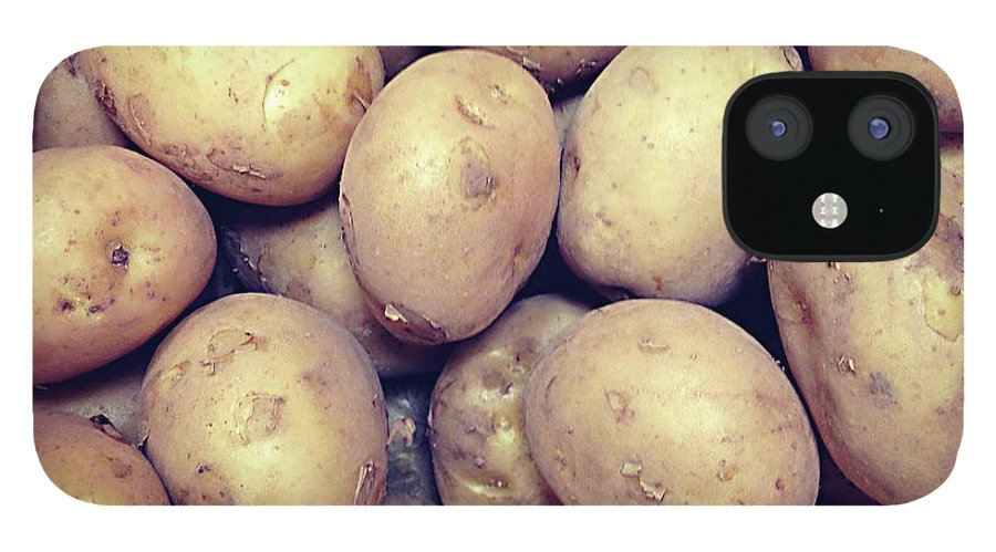 Heap IPhone 12 Case featuring the photograph Potatoes by Digipub