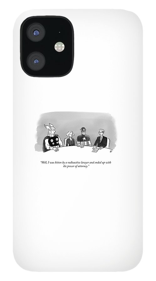 Power of Attorney IPhone 12 Case