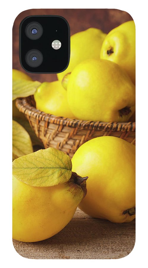 Quince IPhone 12 Case featuring the photograph Quinces by Syolacan