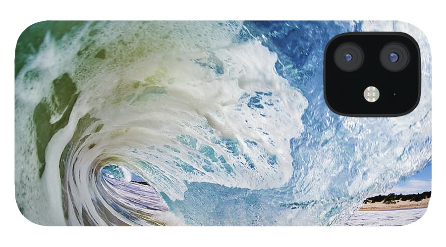 Sky IPhone 12 Case featuring the photograph Rinse Cycle by Shannonstent