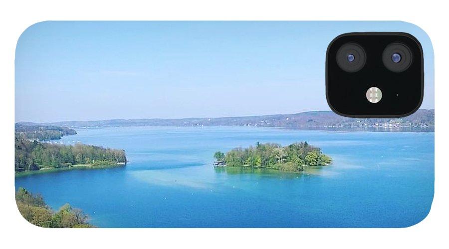 Starnberg IPhone 12 Case featuring the photograph Roseisland by Daniel Hornof