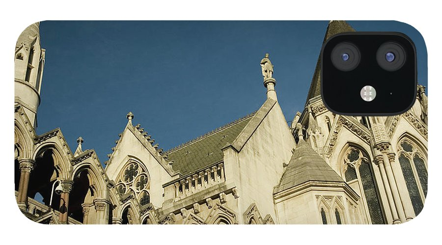 Gothic Style IPhone 12 Case featuring the photograph Royal Courts Of Justice London by Rmax