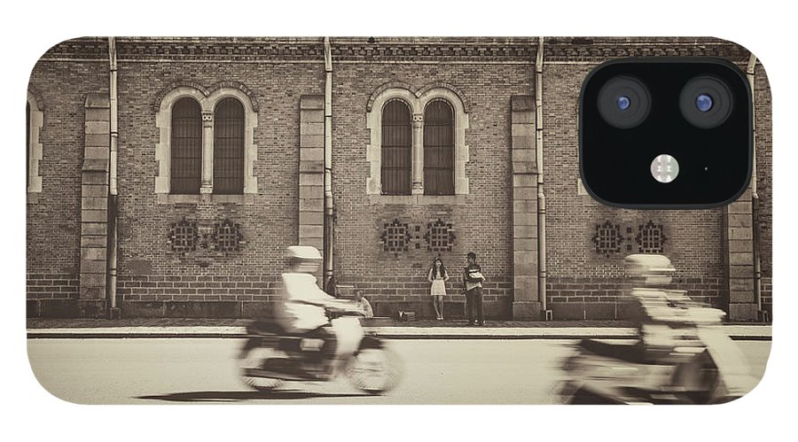 Ho Chi Minh City IPhone 12 Case featuring the photograph Saigon Old Corner by Jethuynh