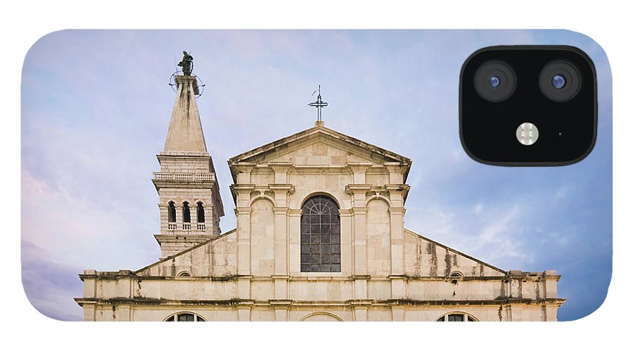 Outdoors IPhone 12 Case featuring the photograph Saint Euphemia Church by David Madison
