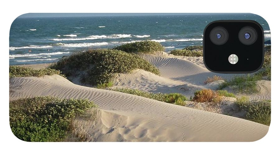 Tranquility IPhone 12 Case featuring the photograph Sand Dunes by Joe M. O'connell