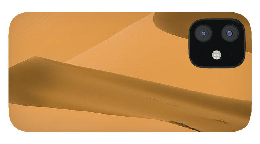 Scenics IPhone 12 Case featuring the photograph Saudi Sand Dune by Universal Stopping Point Photography