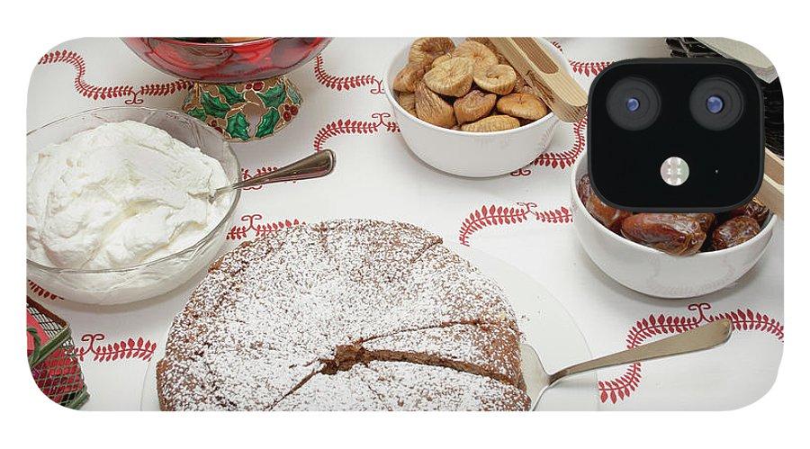 Homemade IPhone 12 Case featuring the photograph Scandinavian Dessert Smorgasbord by Steve Skjold