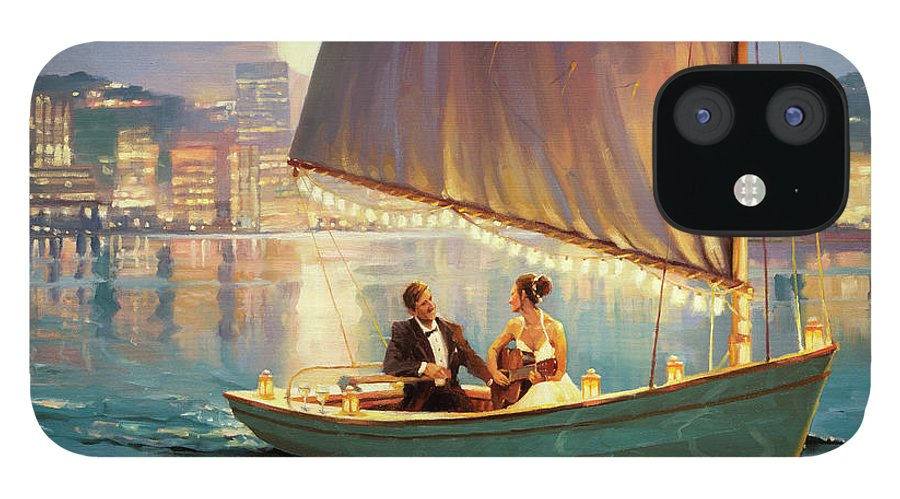 Romance IPhone 12 Case featuring the painting Serenade by Steve Henderson