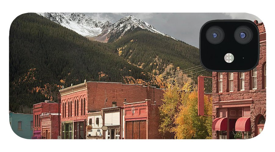 San Juan Mountains IPhone 12 Case featuring the photograph Silverton, Colorado by Missing35mm