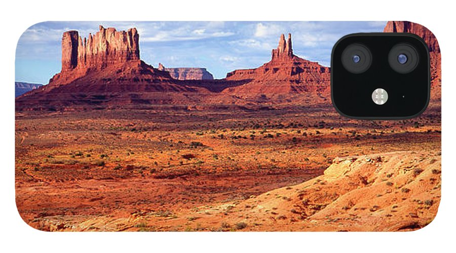 Scenics IPhone 12 Case featuring the photograph Southwest Scenery by Vittorio Ricci - Italy