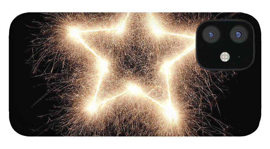 Holiday IPhone 12 Case featuring the photograph Sparkling Star by Amriphoto