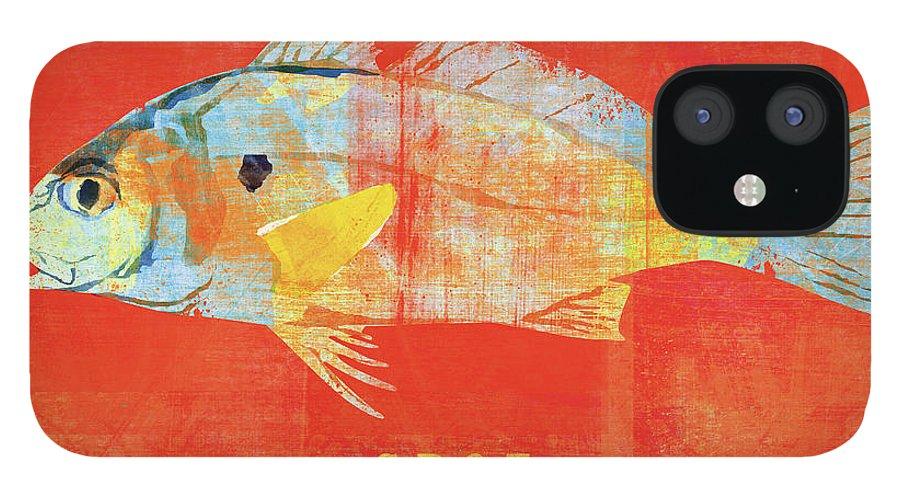 Spot iPhone 12 Case featuring the digital art Spot by John W. Golden