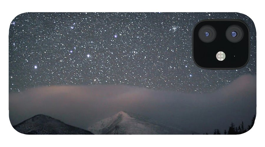 Constellation IPhone 12 Case featuring the photograph Stars Over Rocky Mountain National Park by Pat Gaines