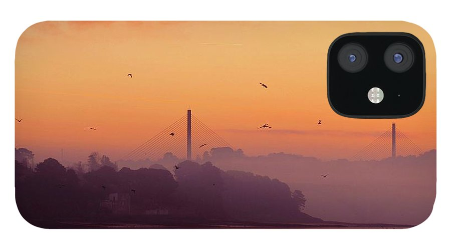 Scenics IPhone 12 Case featuring the photograph Sunrise by All Images Taken By Keven Law Of London, England.