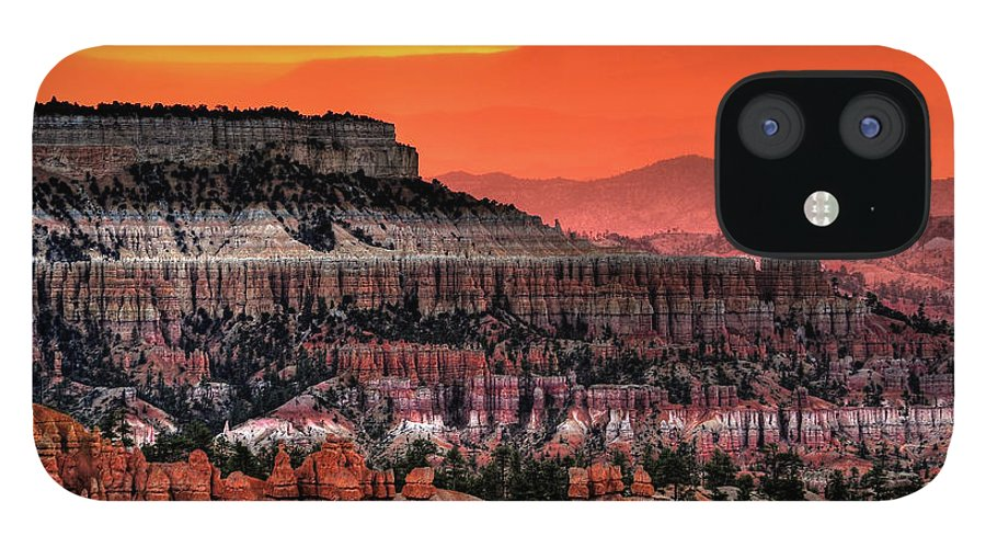Scenics IPhone 12 Case featuring the photograph Sunrise At Bryce Canyon by Photography Aubrey Stoll