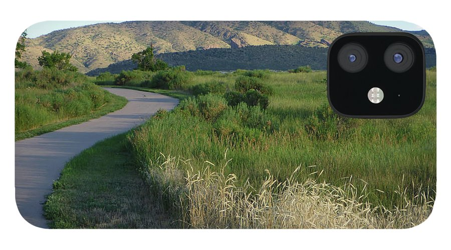 Outdoors IPhone 12 Case featuring the photograph Sunrise Over State Park Grasslands And by Milehightraveler