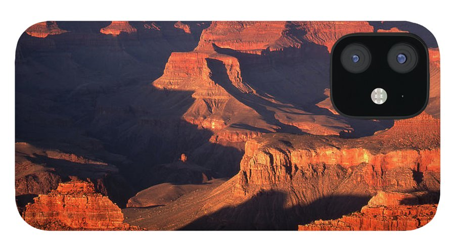 Toughness IPhone 12 Case featuring the photograph Sunset Over Grand Canyon by By Tiina Gill
