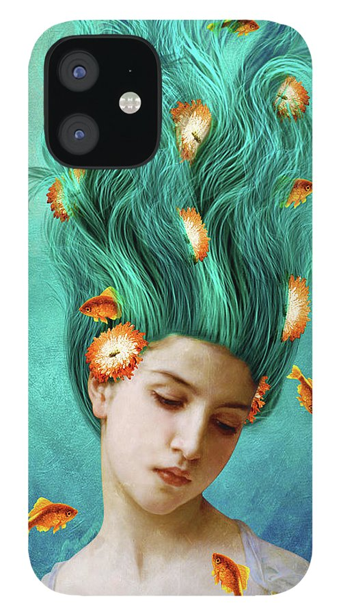 Sweet Allure iPhone 12 Case featuring the mixed media Sweet Allure by Diogo Ver?ssimo
