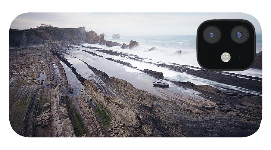 Scenics IPhone 12 Case featuring the photograph Taste Of The Sea by David Díez Barrio