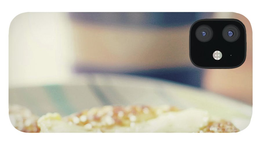Healthy Eating IPhone 12 Case featuring the photograph Tea And Crumpets by Deborah Slater