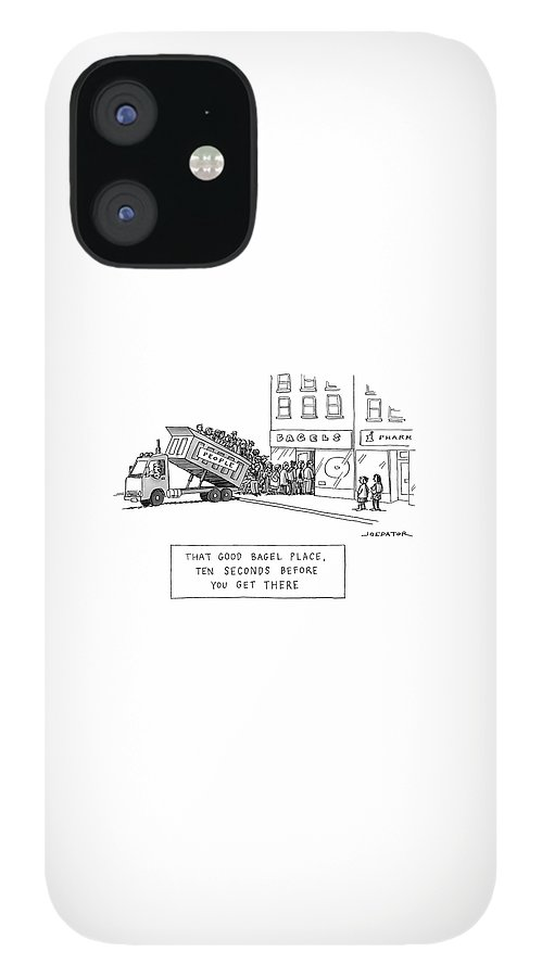 That Good Bagel Place IPhone 12 Case
