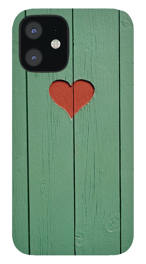 Outhouse IPhone 12 Case featuring the photograph The Door To A Outhouse by Fredrik Nyman