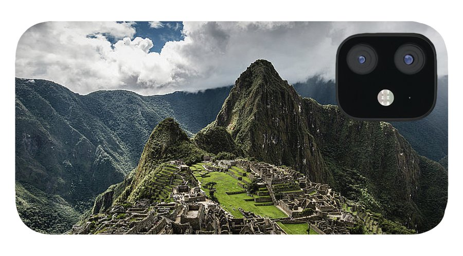 Scenics IPhone 12 Case featuring the photograph The Inca Trail, Machu Picchu, Peru by Kevin Huang