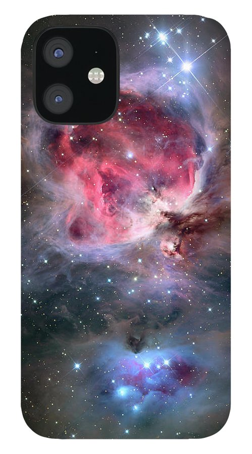 Constellation IPhone 12 Case featuring the photograph The Orion Nebula Also Known As Messier by Stocktrek Images