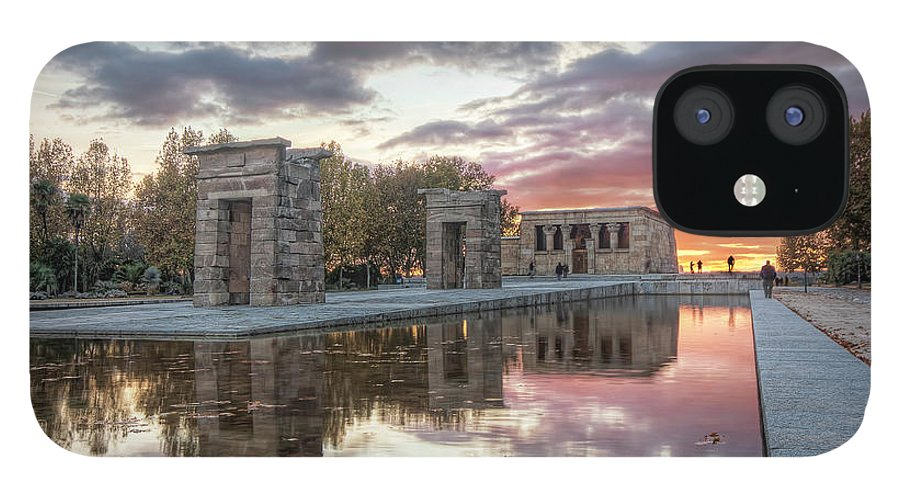 Arch IPhone 12 Case featuring the photograph The Twilight Of The Gods by Servalpe