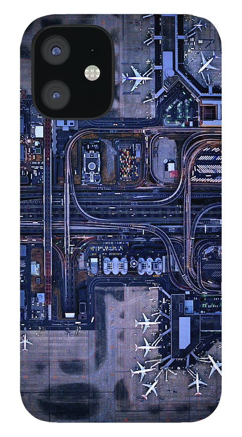 Outdoors IPhone 12 Case featuring the photograph Tokyo International Airporthaneda by Michael H