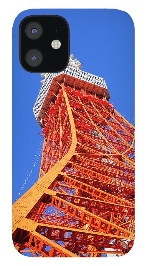 Tokyo Tower IPhone 12 Case featuring the photograph Tokyo Tower by Ngkaki