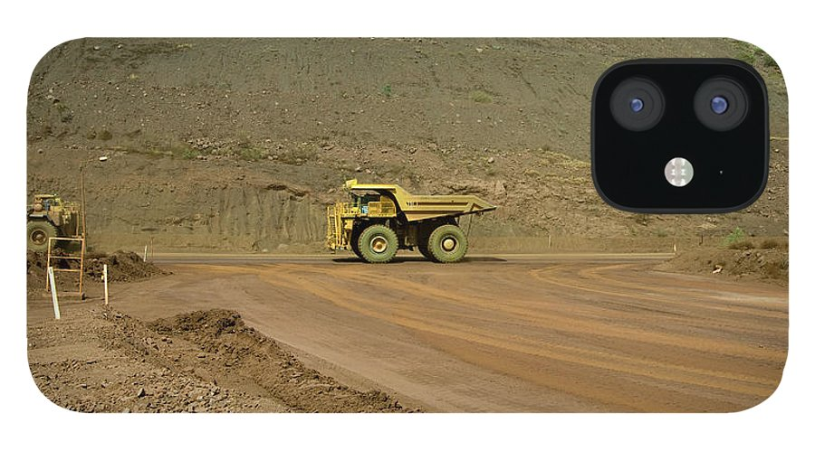 Southern Hemisphere IPhone 12 Case featuring the photograph Tom Price Earthmover by Samvaltenbergs