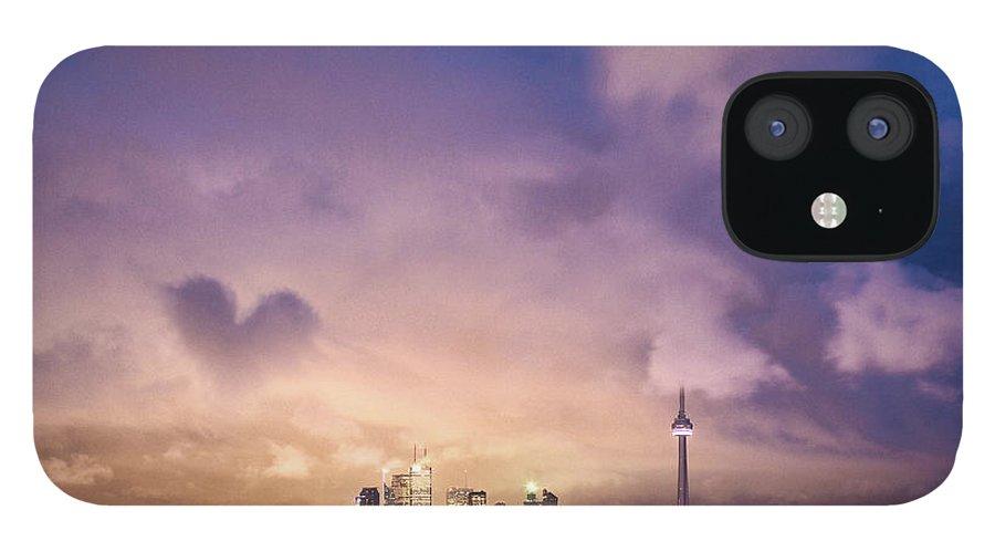 Toronto IPhone 12 Case featuring the photograph Toronto Love by Richard Gottardo - Info@richardgottardo.com
