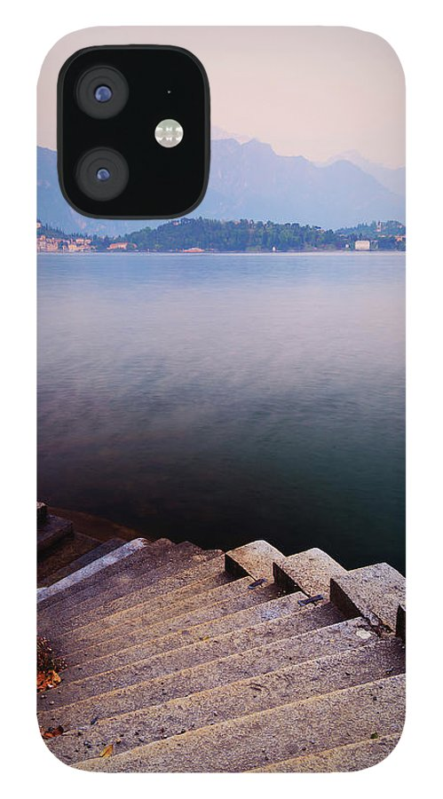 Tranquility IPhone 12 Case featuring the photograph Tranquil by John And Tina Reid