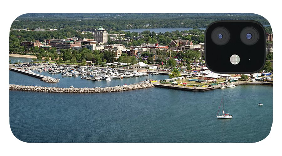 Lake Michigan IPhone 12 Case featuring the photograph Traverse City, Michigan by Ct757fan
