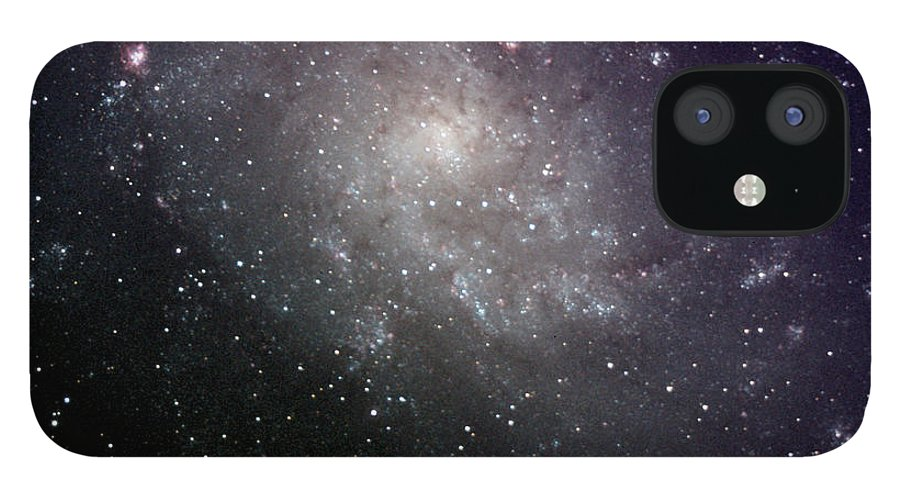 New Mexico IPhone 12 Case featuring the photograph Triangulum Galaxy by A. V. Ley
