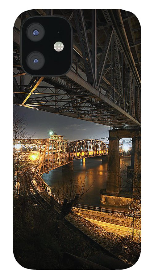 Built Structure IPhone 12 Case featuring the photograph Underbelly by Kevin Van Der Leek Photography