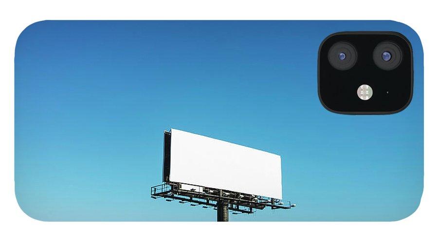 North Carolina IPhone 12 Case featuring the photograph Usa, North Carolina, Billboard Under by Tetra Images