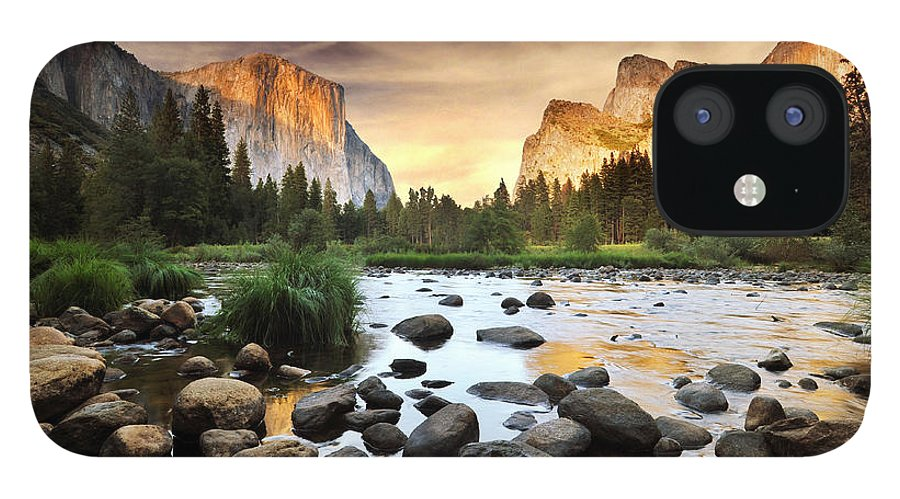 Scenics IPhone 12 Case featuring the photograph Valley Of Gods by John B. Mueller Photography