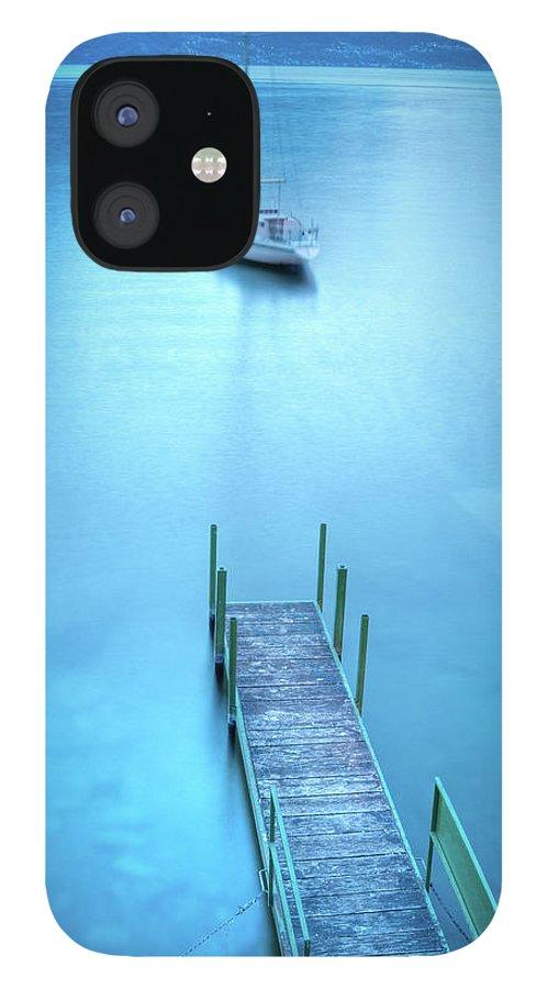 Scenics IPhone 12 Case featuring the photograph Varenna, Lago Di Como by Mmac72