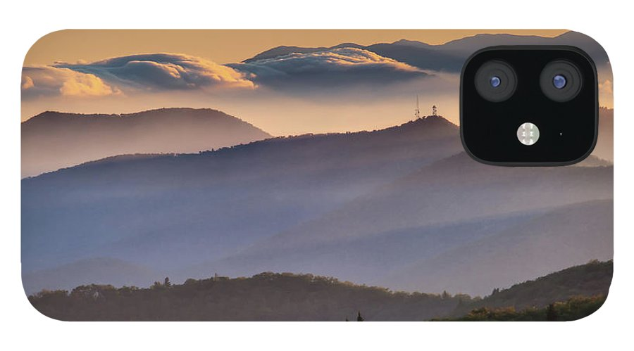 North Carolina IPhone 12 Case featuring the photograph View Of Frying Pan Mountain by Fine Art Images By Rob Travis Photography