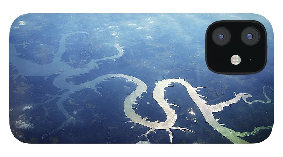 Scenics IPhone 12 Case featuring the photograph View Of Lake Of Ozarks by Copyright John Picken