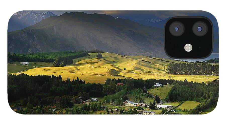 Scenics iPhone 12 Case featuring the photograph Wanaka, New Zealand by Atomiczen