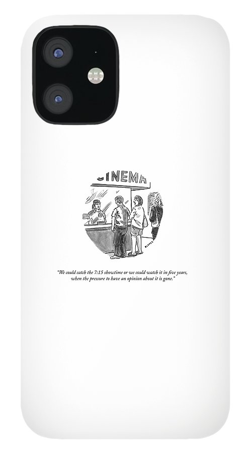 Watch It in Five Years IPhone 12 Case