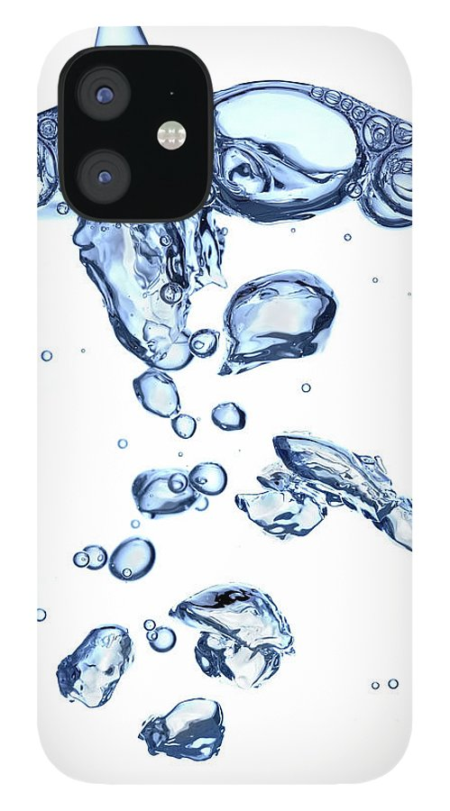 Underwater IPhone 12 Case featuring the photograph Water Bubbles by Trout55