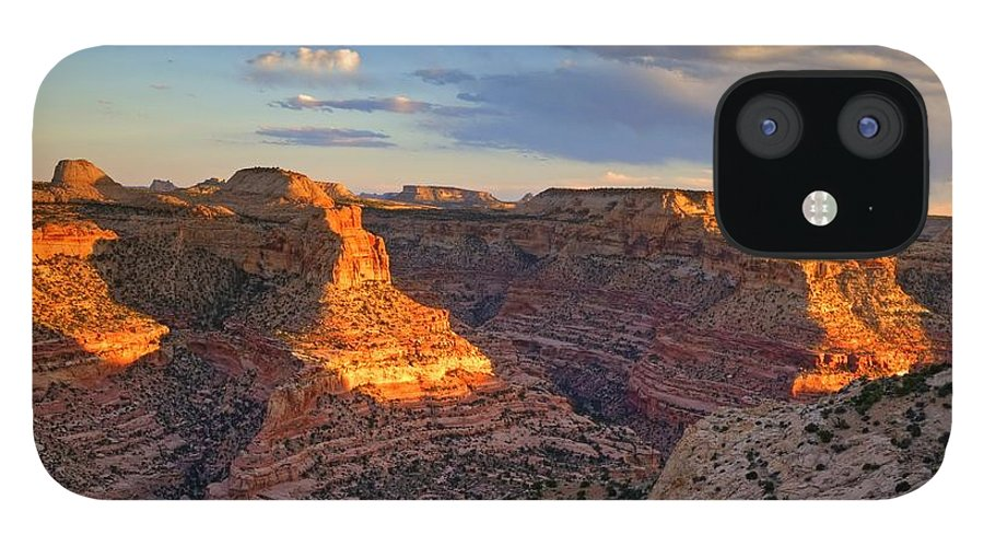 Scenics IPhone 12 Case featuring the photograph Wedge Overlook by Yvonne Baur
