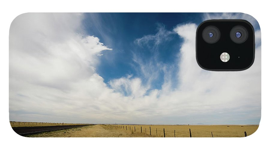 Scenics IPhone 12 Case featuring the photograph West Texas Grasslands United States Of by Tier Images