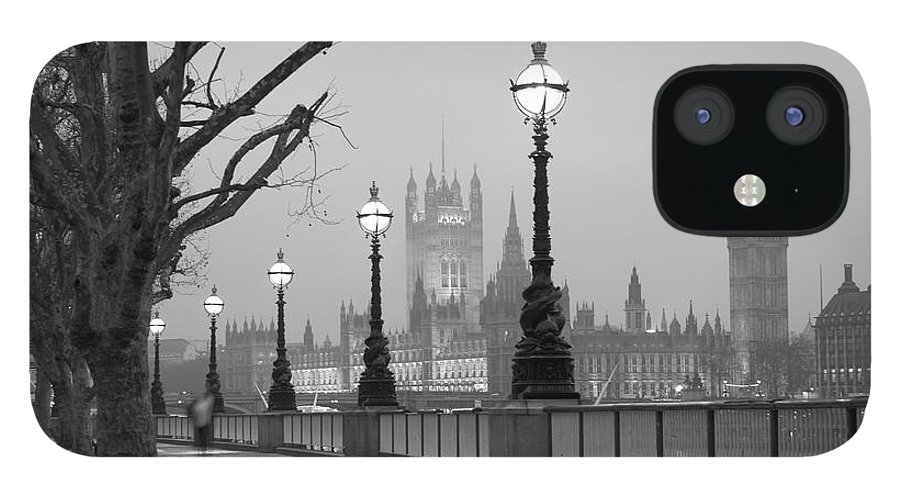 Scenics IPhone 12 Case featuring the photograph Westminster At Dawn, London by Gp232
